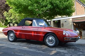 1967 Duetto Spider 1600 RHD  NOW SOLD
