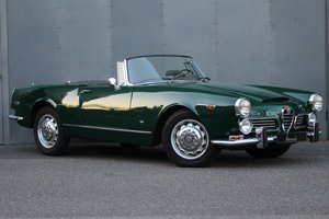 1965 Alfa Romeo 2600 Spider LHD For Sale