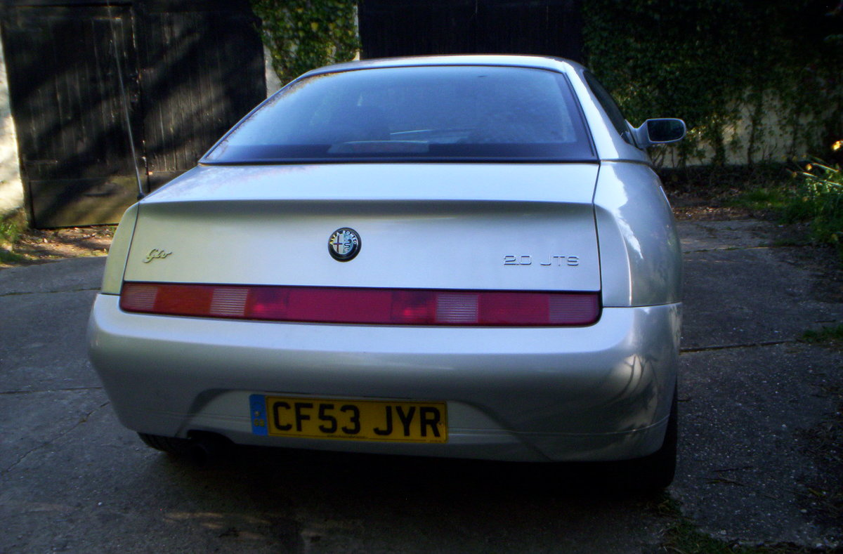 2003 Alfa Romeo GTVjtf For Sale (picture 4 of 6)