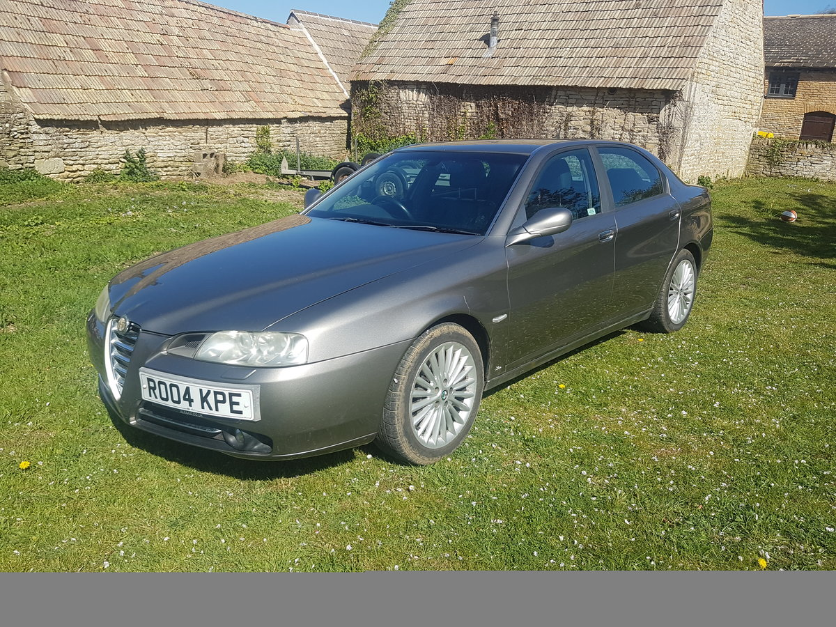2004 Alfa 166 3.2L V6 Manual Lusso For Sale (picture 1 of 6)