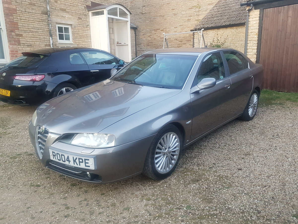 2004 Alfa 166 3.2L V6 Manual Lusso For Sale (picture 3 of 6)