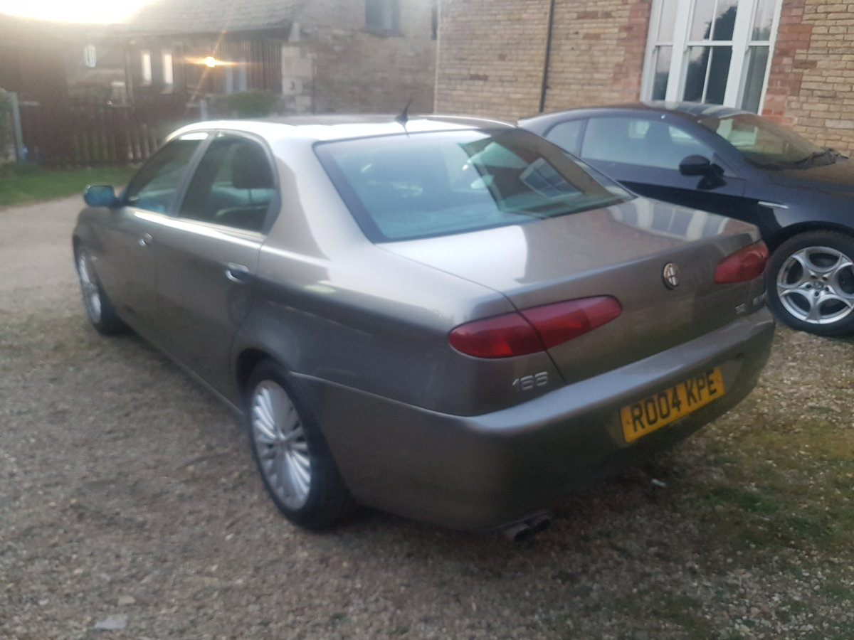 2004 Alfa 166 3.2L V6 Manual Lusso For Sale (picture 4 of 6)