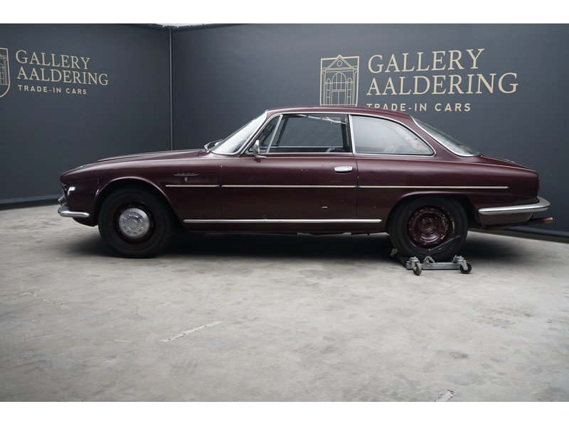 1963 Alfa Romeo 2600 Sprint California black plate car, very orig For Sale (picture 2 of 6)