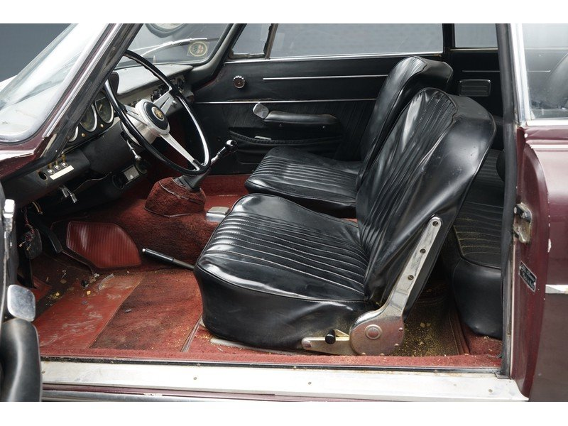 1963 Alfa Romeo 2600 Sprint California black plate car, very orig For Sale (picture 3 of 6)