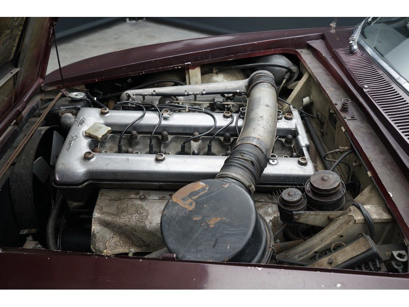 1963 Alfa Romeo 2600 Sprint California black plate car, very orig For Sale (picture 4 of 6)