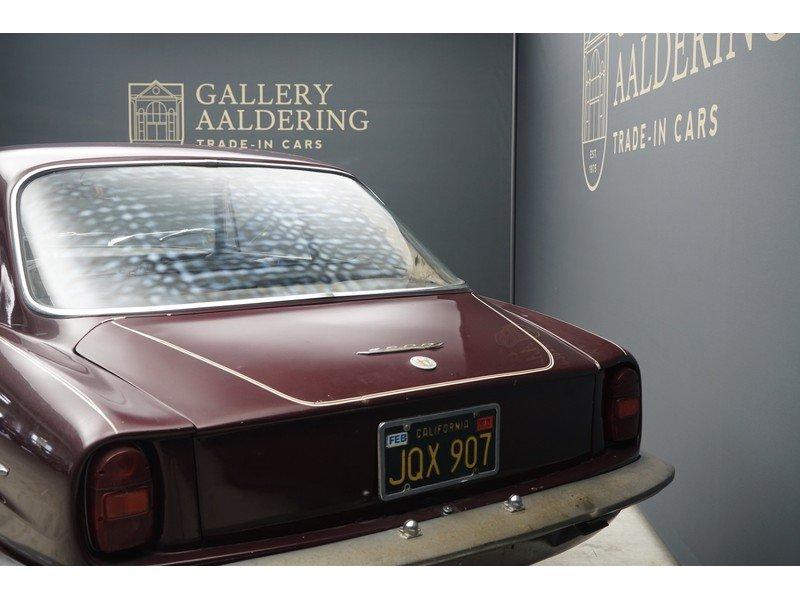1963 Alfa Romeo 2600 Sprint California black plate car, very orig For Sale (picture 5 of 6)