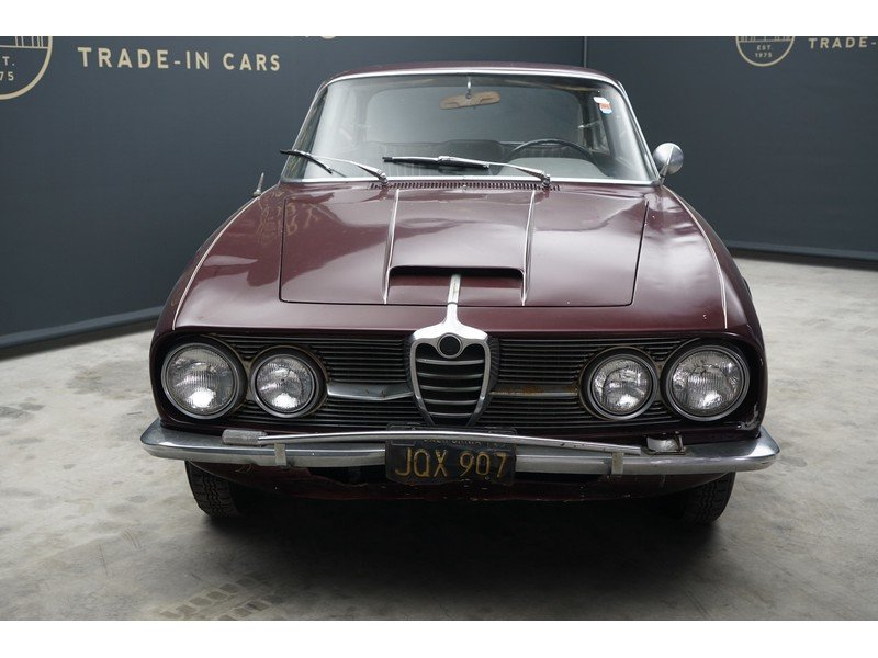 1963 Alfa Romeo 2600 Sprint California black plate car, very orig For Sale (picture 6 of 6)