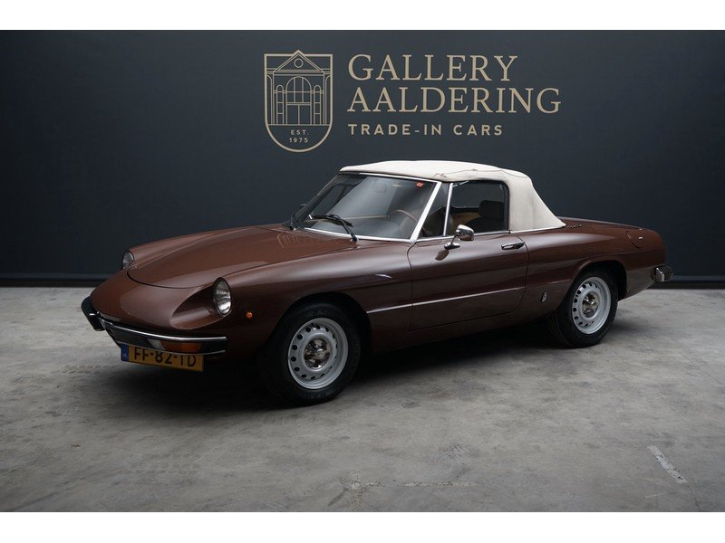 1979 Alfa Romeo Spider 1600 two owners, original Dutch delivered  For Sale (picture 1 of 6)