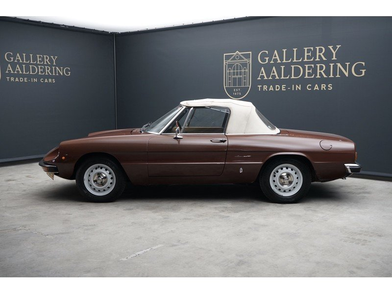 1979 Alfa Romeo Spider 1600 two owners, original Dutch delivered  For Sale (picture 2 of 6)