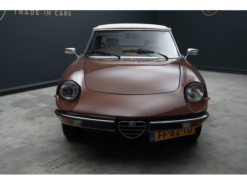 1979 Alfa Romeo Spider 1600 two owners, original Dutch delivered  For Sale (picture 5 of 6)
