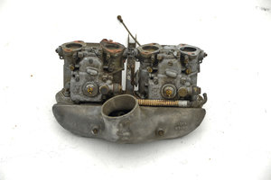 WEBER 40DCOE2 CARBURETORS, VELOCE AIR PLENUM