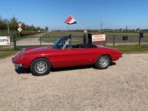 1966 Alfa Romeo 1600 Duetto Spider 'Osso di seppia' Rosso