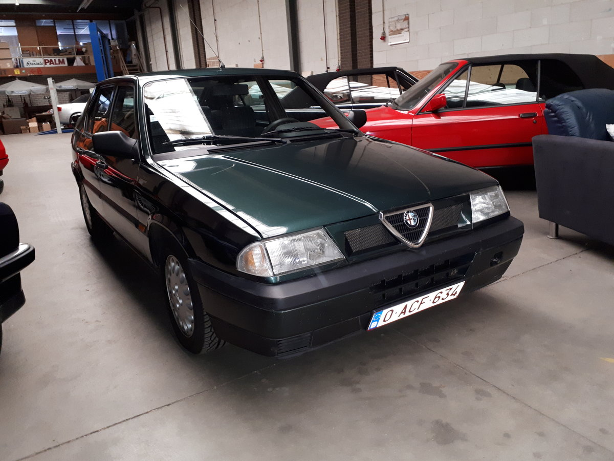 Alfa Romeo 33 Boxer 1.7-16V 1990 43000 km Italian hot hatch For Sale (picture 1 of 6)