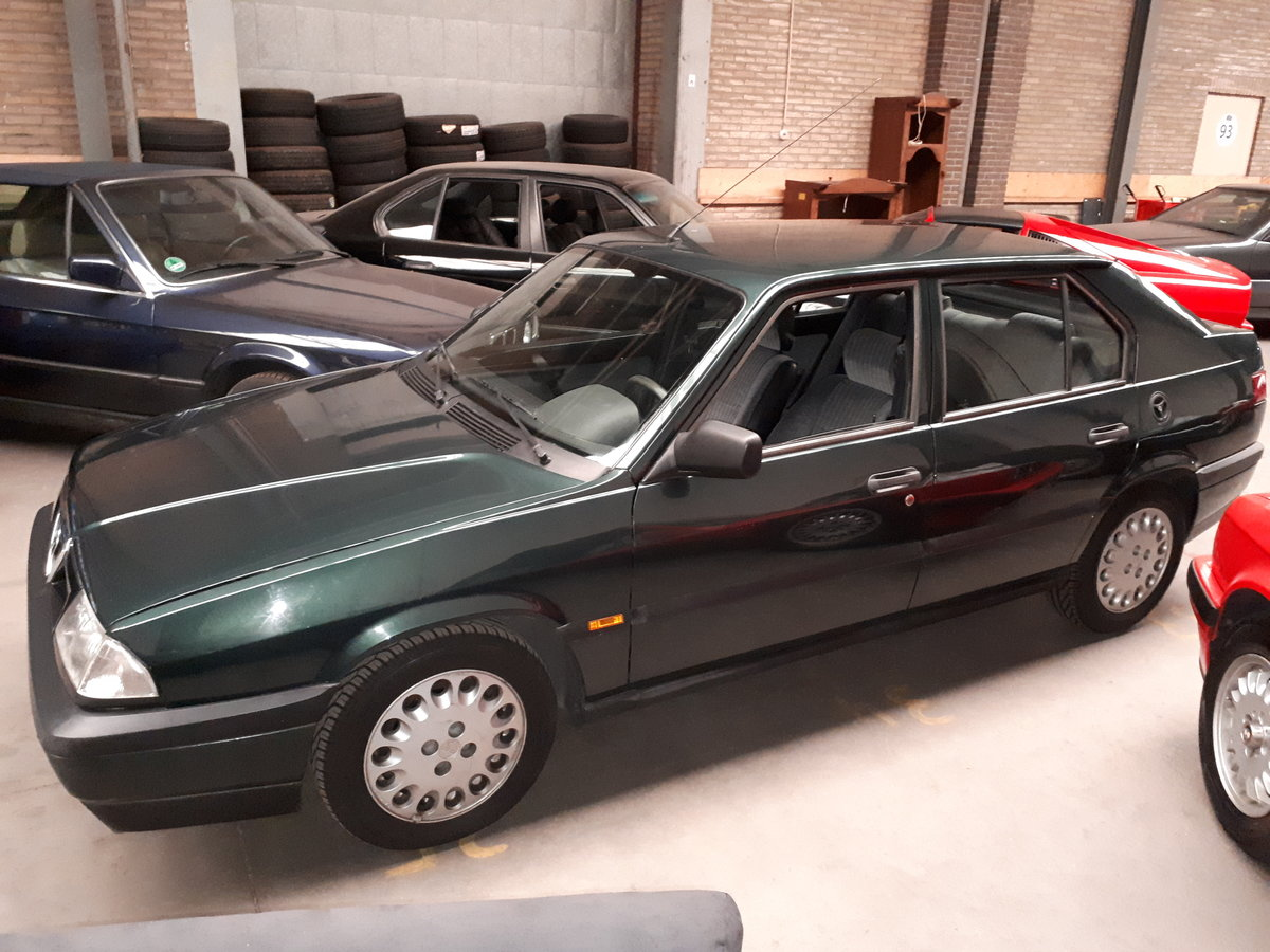 Alfa Romeo 33 Boxer 1.7-16V 1990 43000 km Italian hot hatch For Sale (picture 4 of 6)