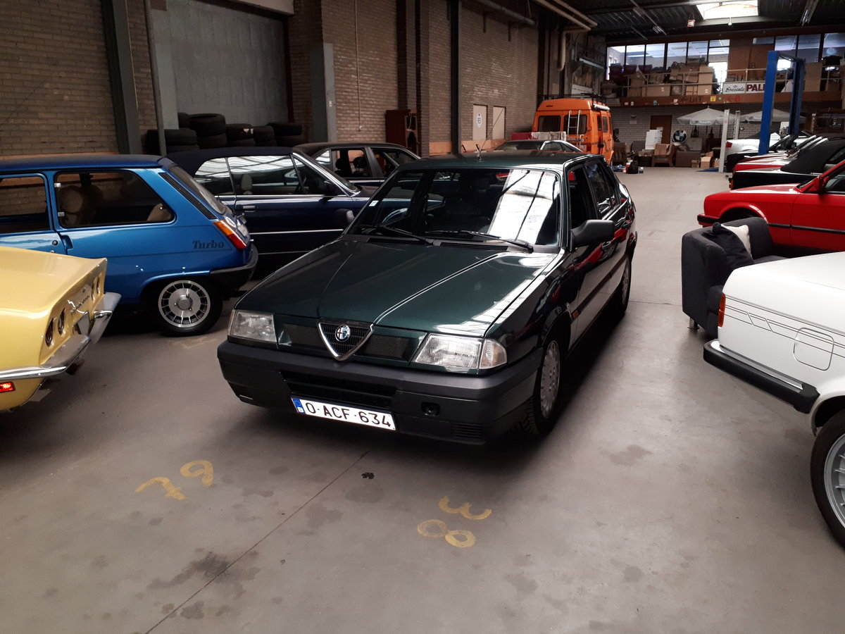 Alfa Romeo 33 Boxer 1.7-16V 1990 43000 km Italian hot hatch For Sale (picture 5 of 6)