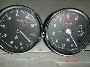 ALFA ROMEO Old Instruments
