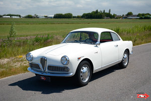 1959 Alfa Romeo Giulietta Sprint - Bianco Gardenia