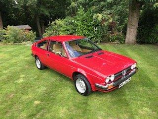 1981 Alfa Romeo Alfasud Sprint Veloce 1.5