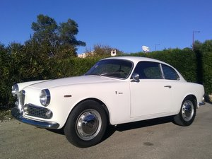 1963 ALFA ROMEO GIULIETTA SPRINT COUPÉ  SOLD by Auction