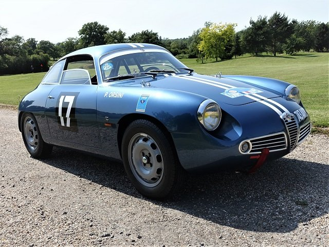 1961 Alfa Giulietta SZ Zagato For Sale (picture 1 of 6)