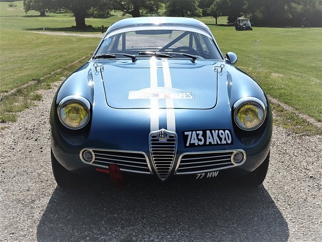 1961 Alfa Giulietta SZ Zagato For Sale (picture 2 of 6)