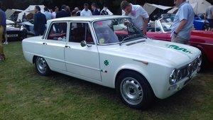 1963 Alfa Romeo Giulia Ti Super Recreation