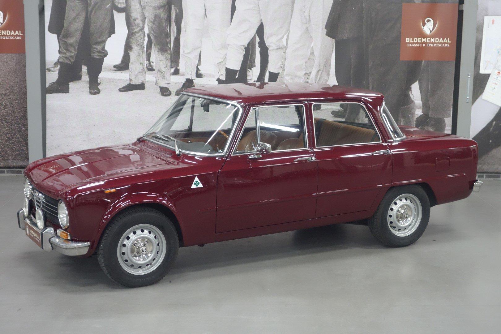1971 Alfa Romeo Giulia 1300 Super SOLD (picture 1 of 6)