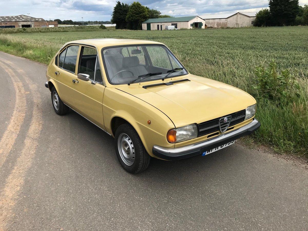 1978 Alfa Romeo Alfasud 1.3 Super - new MoT SOLD (picture 1 of 5)