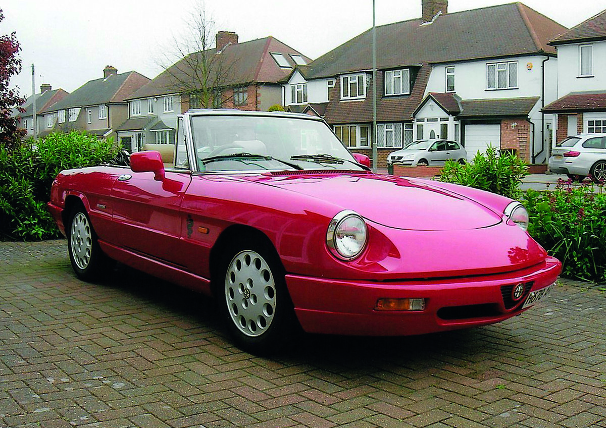 1991 Alfa Rome Spider for auction 16th - 17th July SOLD by Auction (picture 1 of 4)