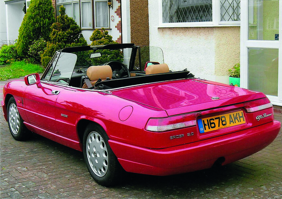 1991 Alfa Rome Spider for auction 16th - 17th July SOLD by Auction (picture 2 of 4)