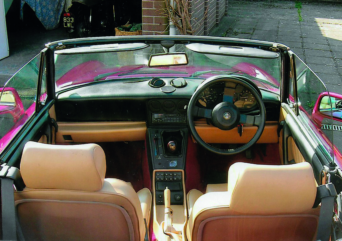 1991 Alfa Rome Spider for auction 16th - 17th July SOLD by Auction (picture 4 of 4)