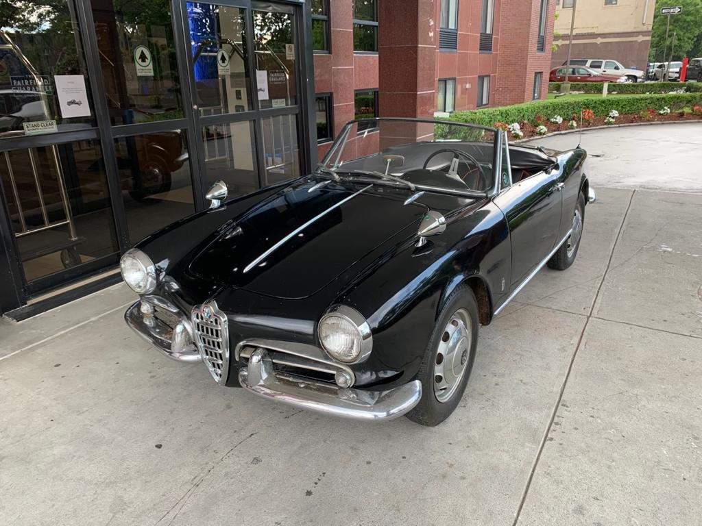#23374 1962 Alfa Romeo Giulietta Spider For Sale (picture 1 of 6)