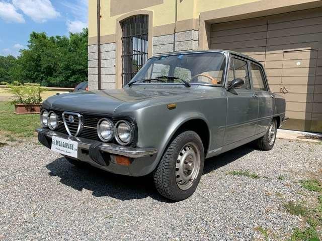 1974 ALFA ROMEO GIULIA NUOVA SUPER 1300 For Sale (picture 2 of 6)