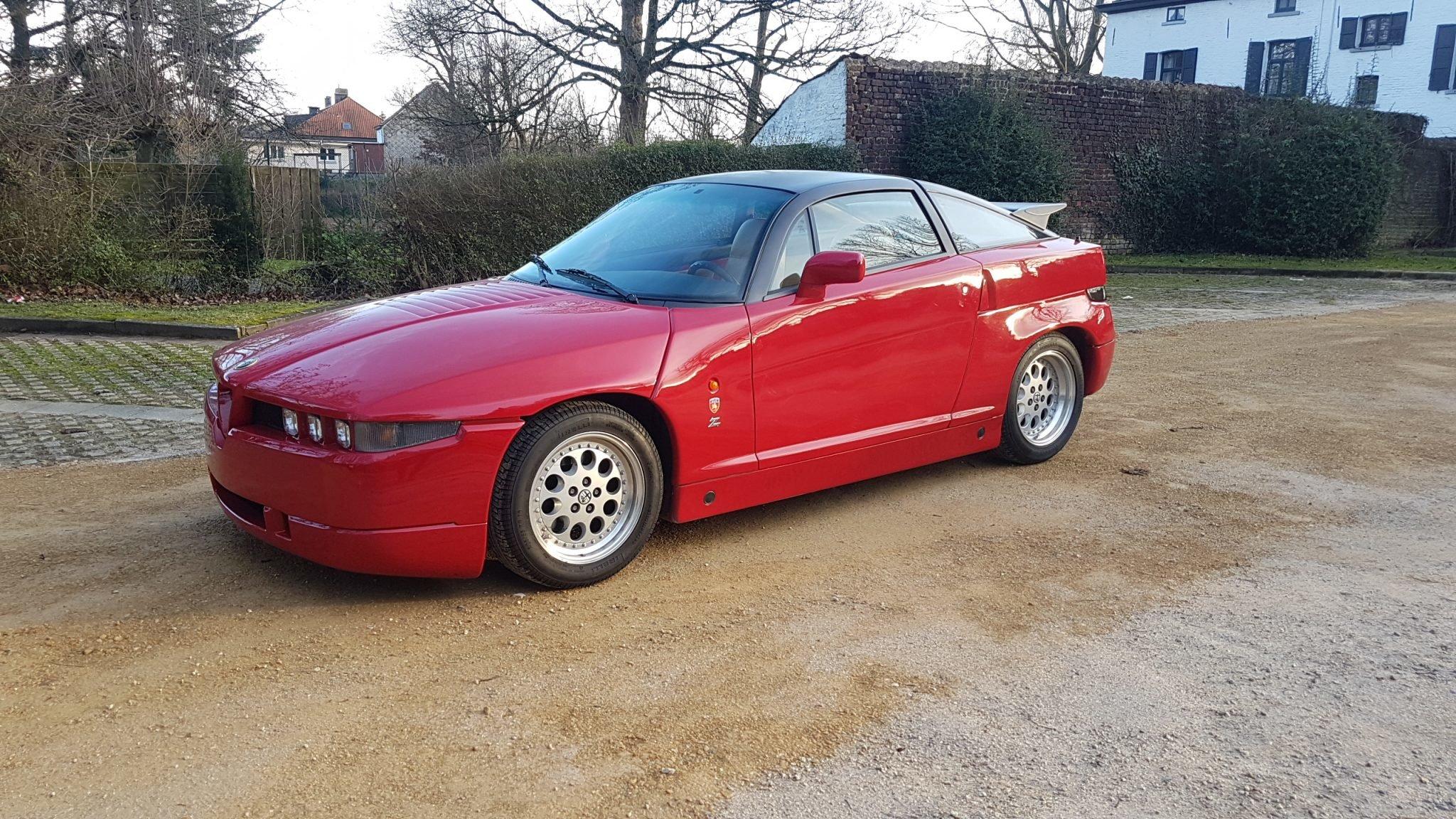 1993 Alfa Romeo Zagato SZ SOLD (picture 1 of 6)