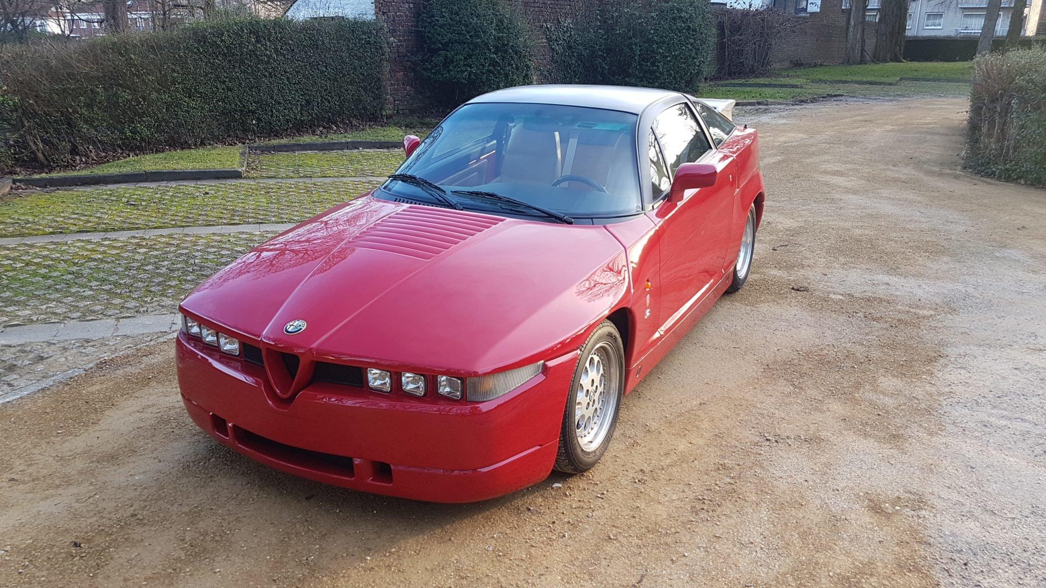 1993 Alfa Romeo Zagato SZ SOLD (picture 2 of 6)