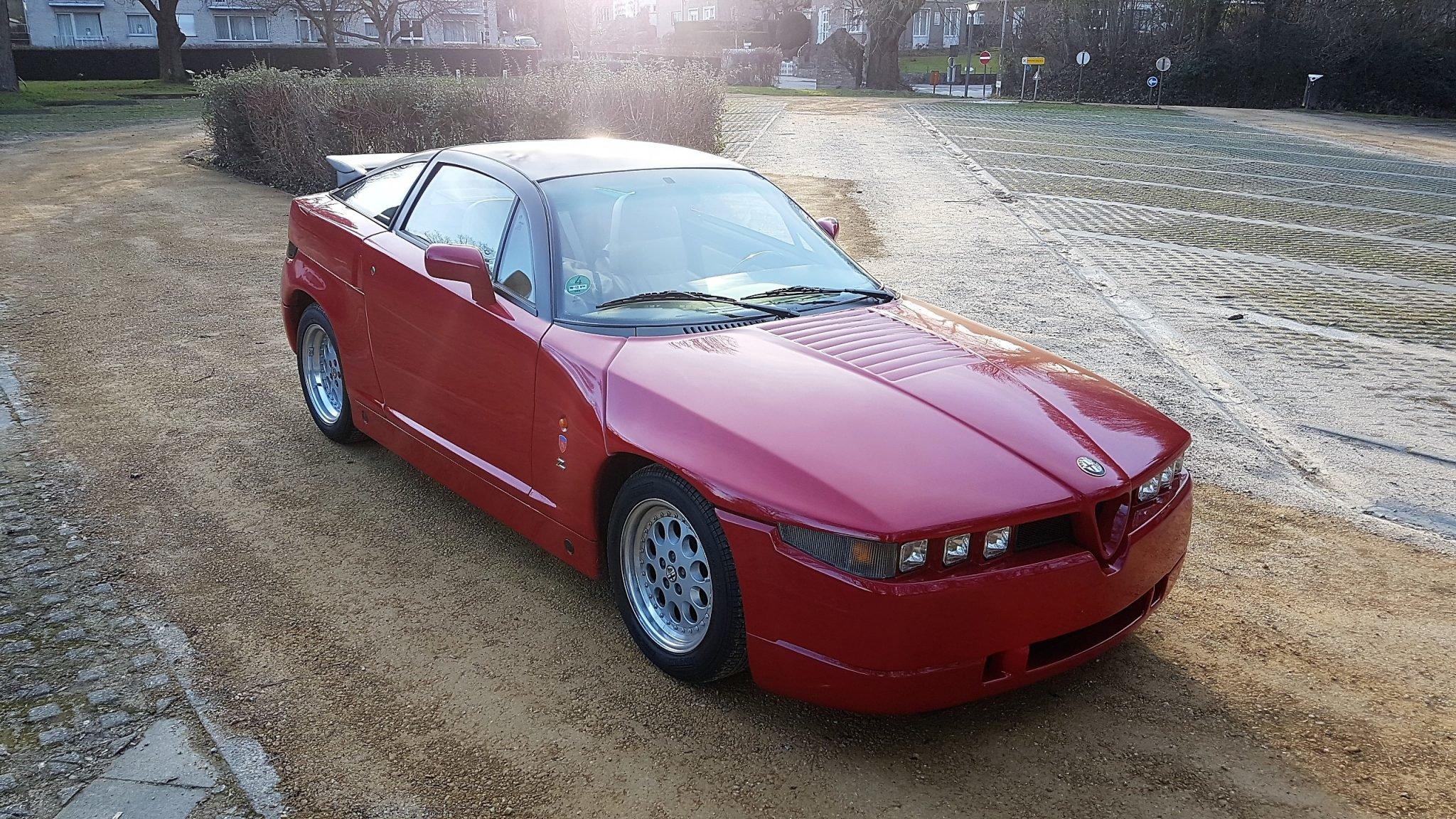 1993 Alfa Romeo Zagato SZ SOLD (picture 3 of 6)