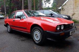 1983 ALFA ROMEO ALFETTA GTV 6 For Sale by Auction