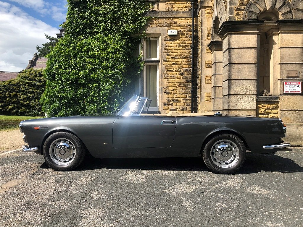 1963 Alfa Romeo 2600 Spider by Touring SOLD (picture 6 of 7)
