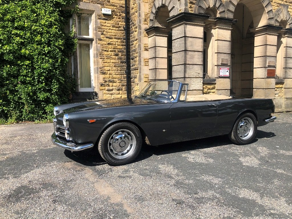 1963 Alfa Romeo 2600 Spider by Touring SOLD (picture 7 of 7)