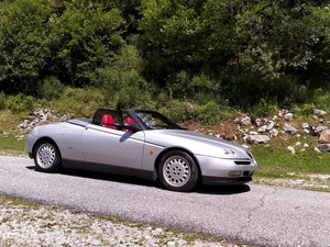 1997 Alfa spider v6 with hard top, history complete