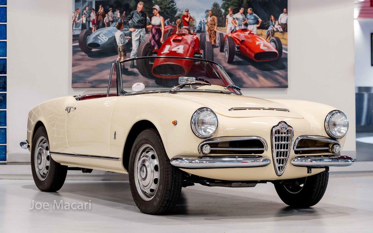 1963 Alfa Romeo Giulia Spider For Sale (picture 1 of 14)