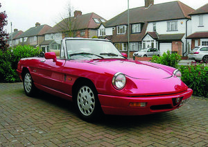 1991 Alfa Spider S4 for auction 16th -17th July SOLD by Auction
