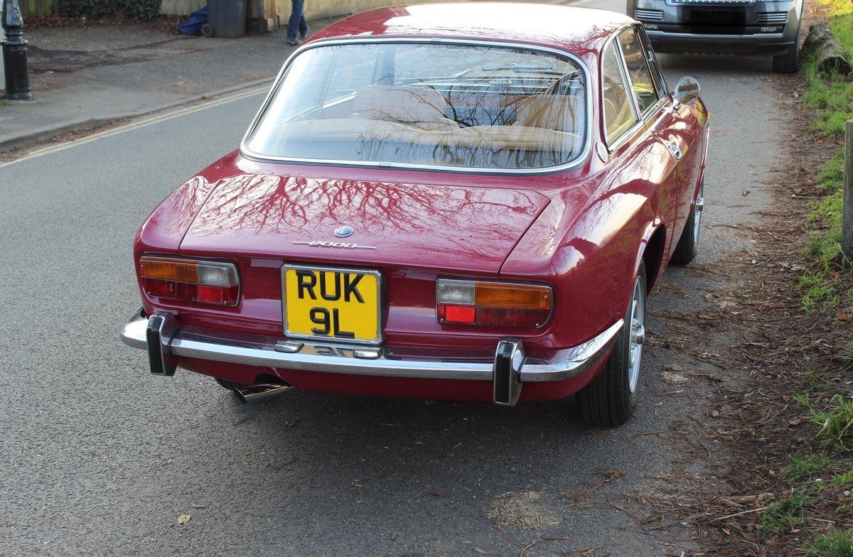 1973 Alfa Romeo Bertone 2000 GT Veloce  SOLD (picture 3 of 6)