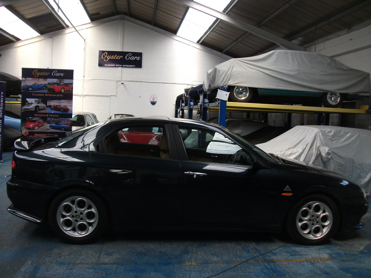 2000 Alfa Romeo 156 2.5 V6. 82,000 miles. New cambelt and clutch SOLD (picture 1 of 6)
