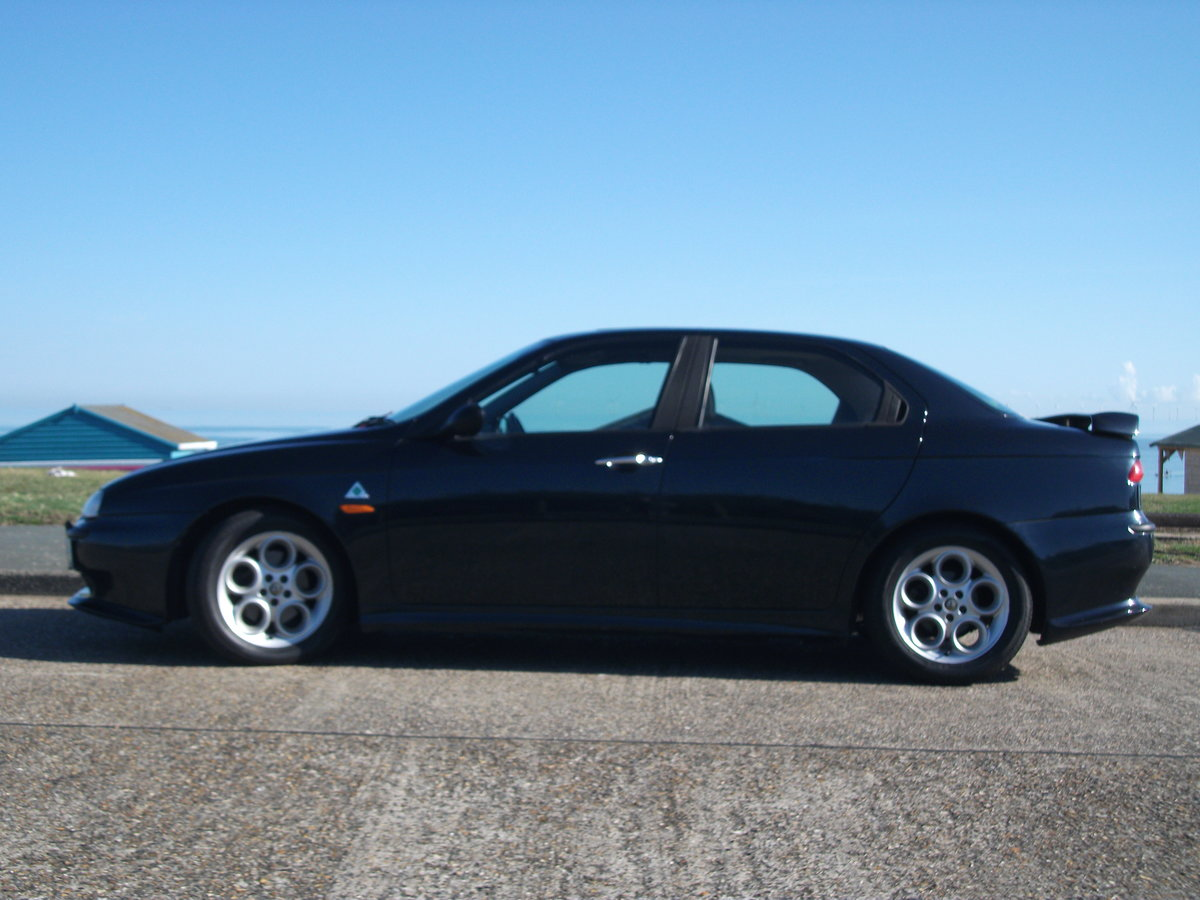 2000 Alfa Romeo 156 2.5 V6. 82,000 miles. New cambelt and clutch SOLD (picture 2 of 6)