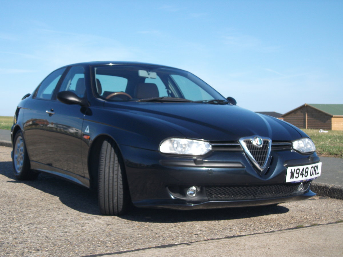 2000 Alfa Romeo 156 2.5 V6. 82,000 miles. New cambelt and clutch SOLD (picture 3 of 6)