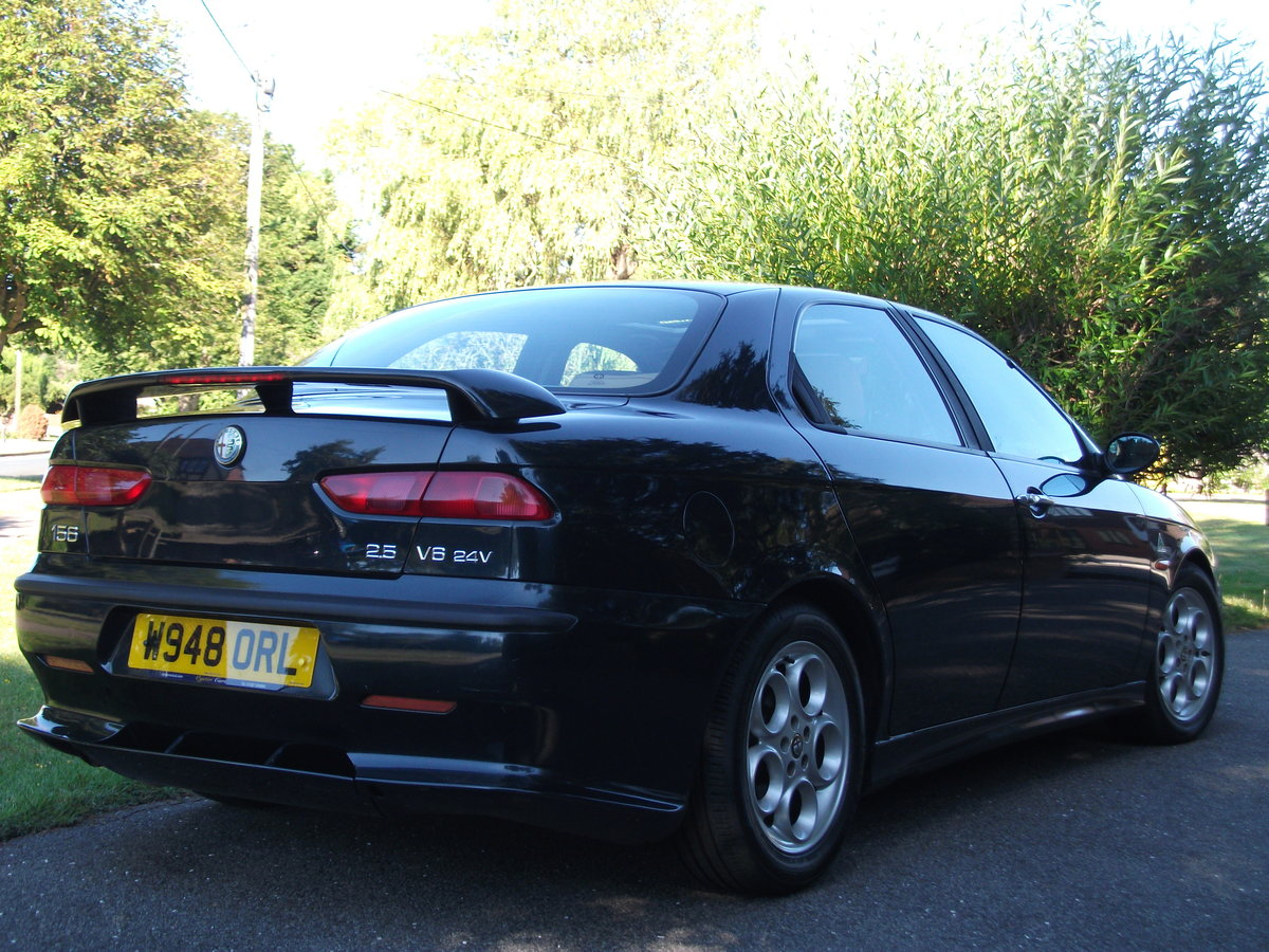 2000 Alfa Romeo 156 2.5 V6. 82,000 miles. New cambelt and clutch SOLD (picture 4 of 6)