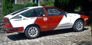 Alfa-romeo gtv6 1982 rally