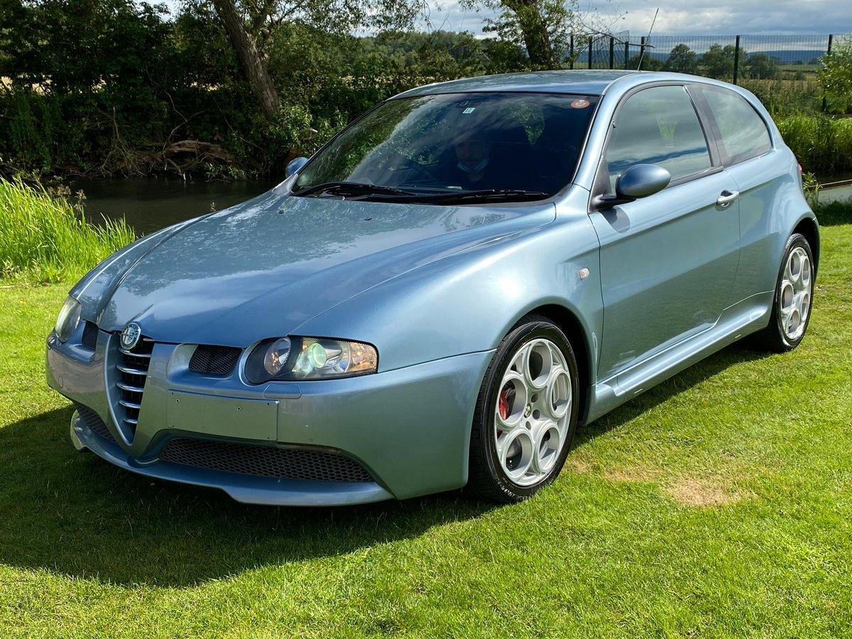 2004 ALFA ROMEO 147 GTA FUTURE CLASSIC 3.2 V6 AUTO * RARE AZZURRO For Sale (picture 1 of 6)