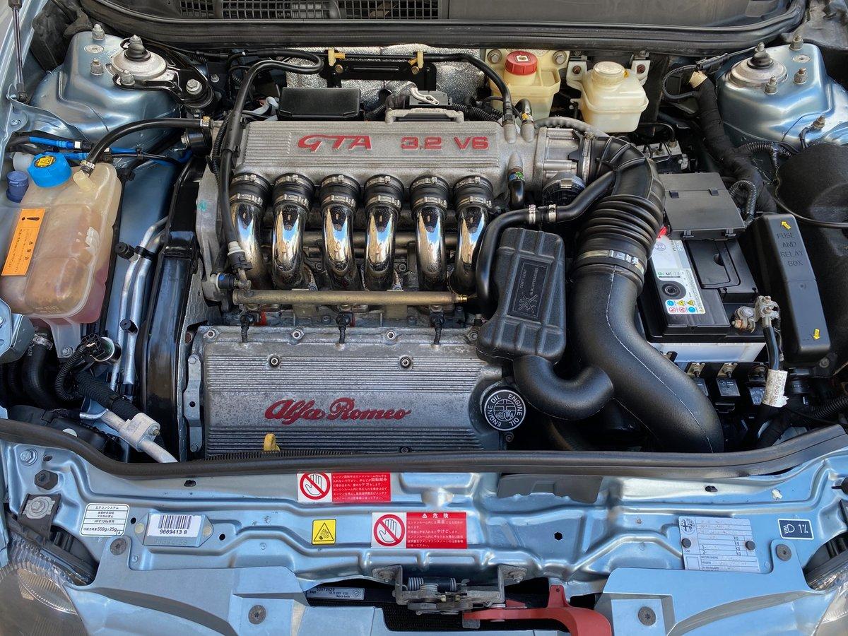 2004 ALFA ROMEO 147 GTA FUTURE CLASSIC 3.2 V6 AUTO * RARE AZZURRO For Sale (picture 6 of 6)